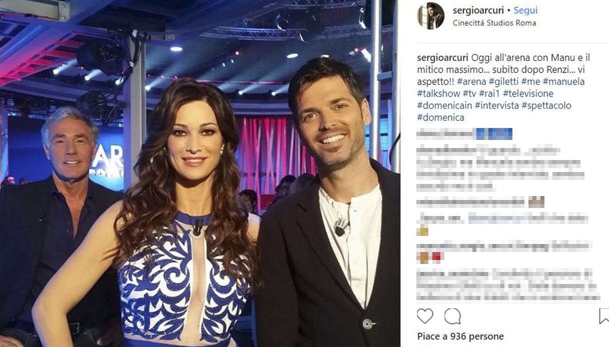 Manuela e Sergio Arcuri