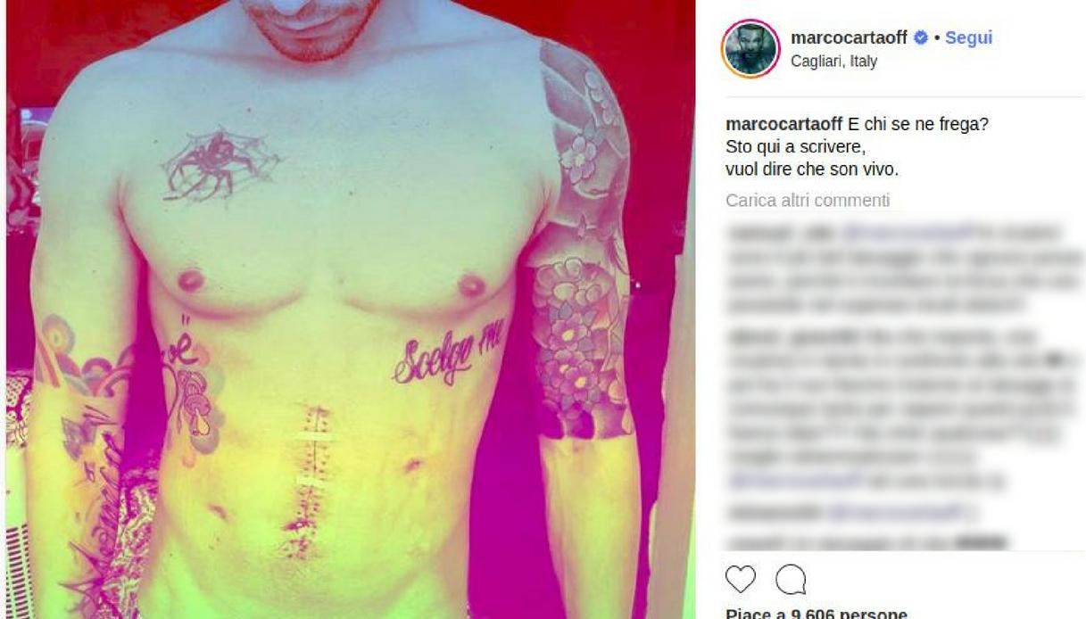 Marco Carta Instagram