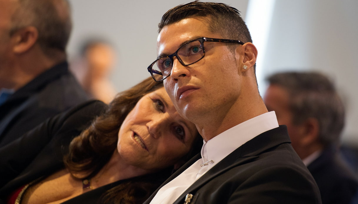 Maria Dolores dos Santos Aveiro e Cristiano Ronaldo