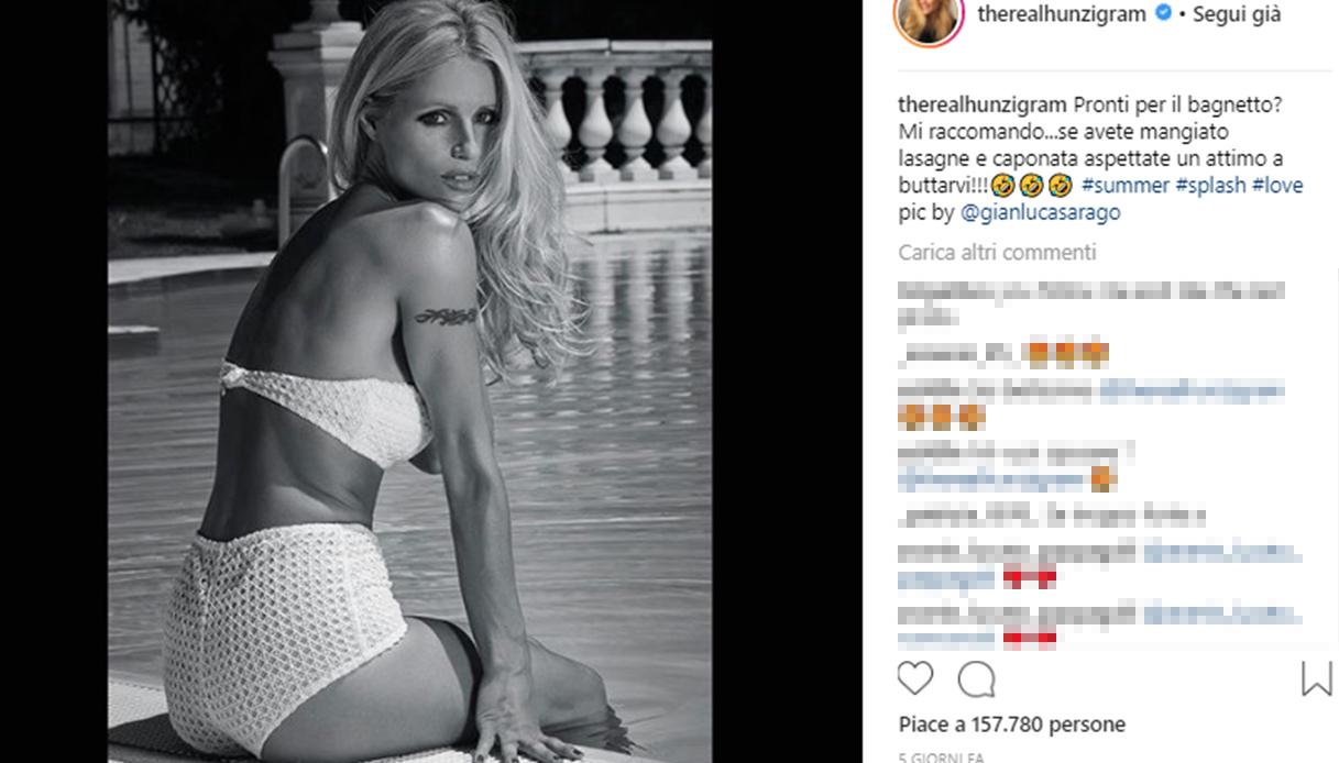 Michelle Hunziker splendida su Instagram