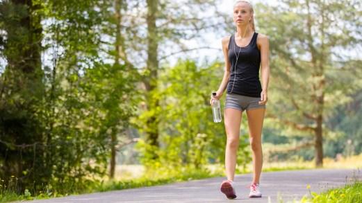 Una camminata di 20 minuti… e la vita svolta
