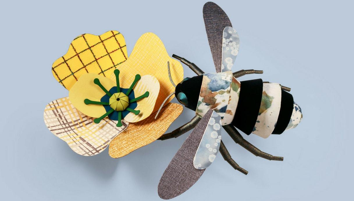 Tessuti e carte da parati diventano fiori e insetti, per colorare la casa di fantasia