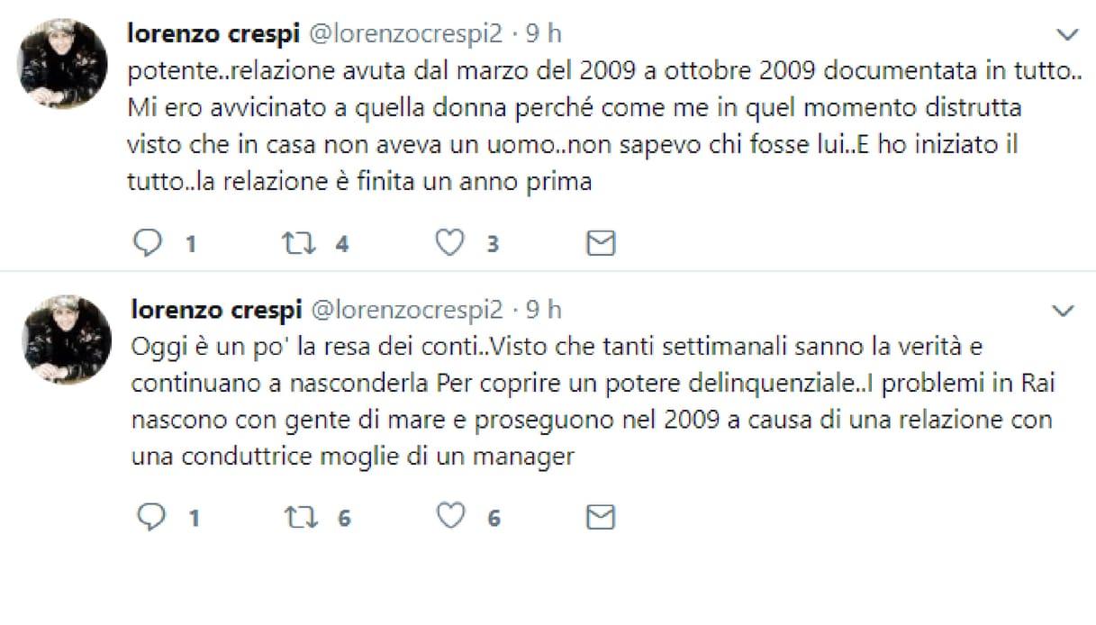 Le frasi di Lorenzo Crespi sui social