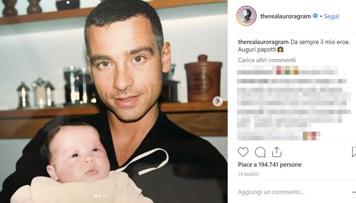 Eros Ramazzotti e Aurora -