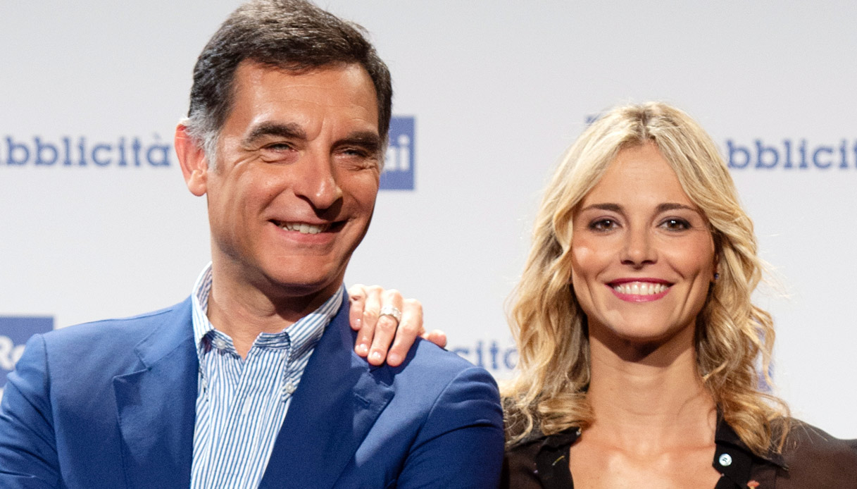 Tiberio Timperi e Francesca Fialdini