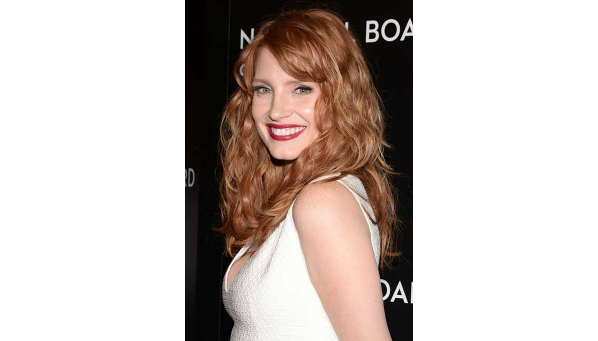Jessica Chastain: midlight red