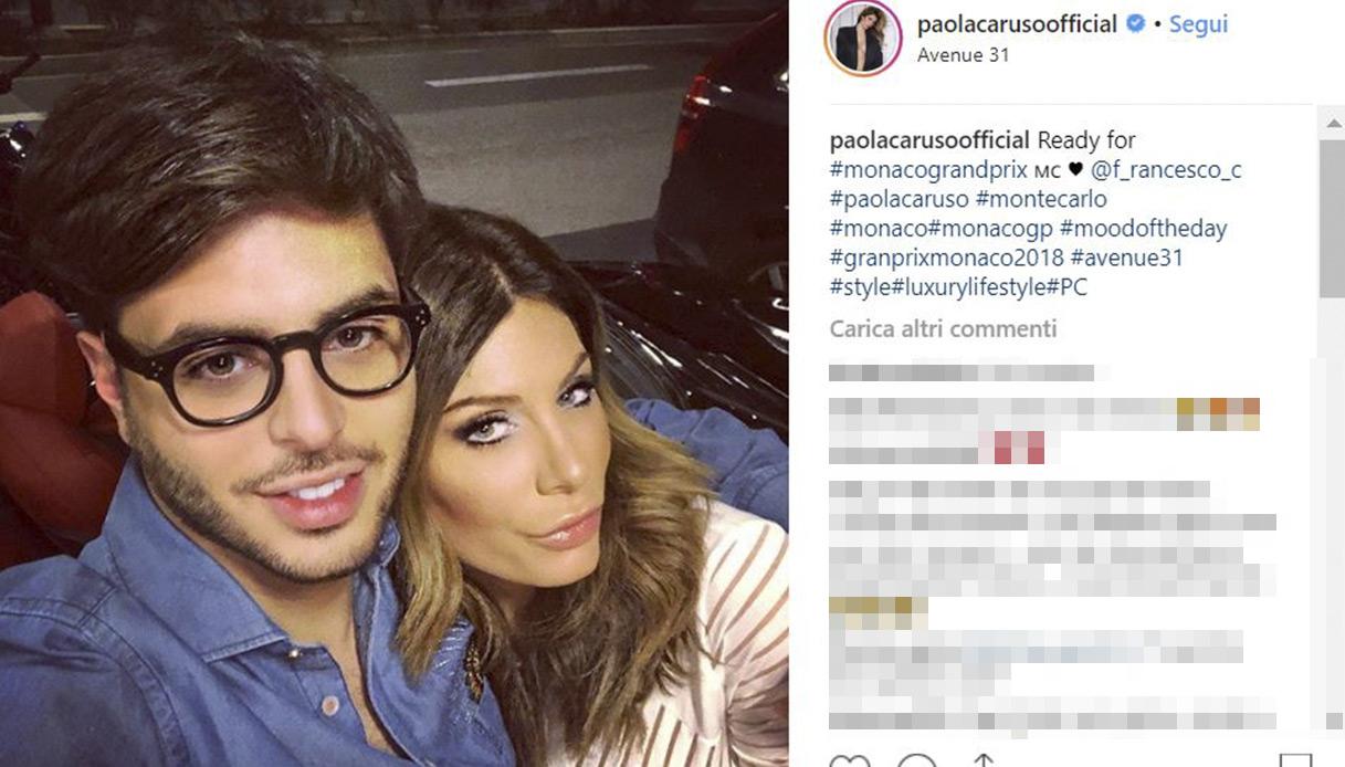 Paola Caruso con Francesco Caserta