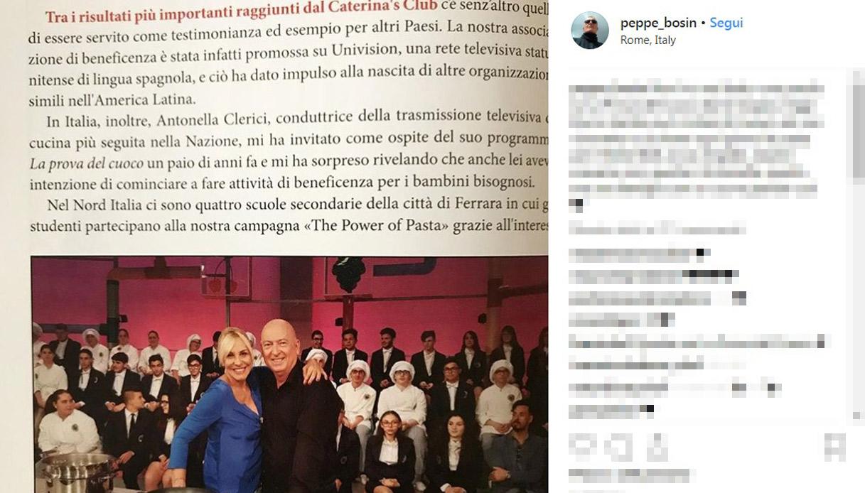 Beppe Bosin Antonella Clerici