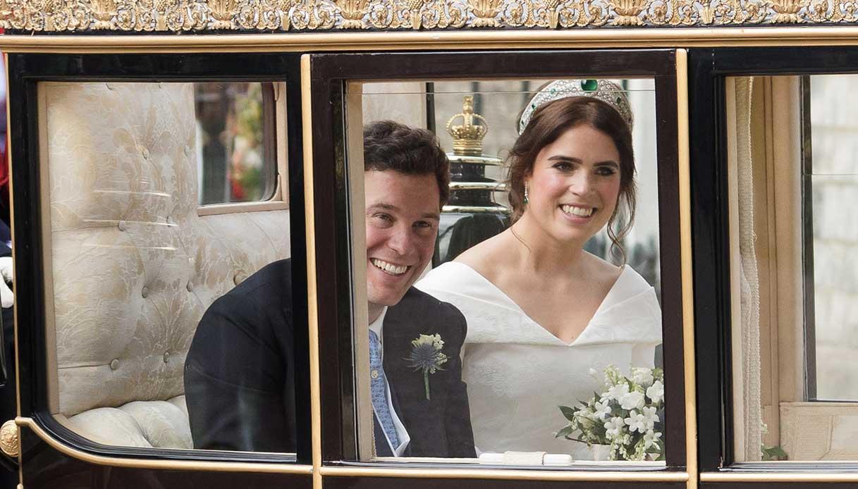 Eugenia di York e il marito matrimonio