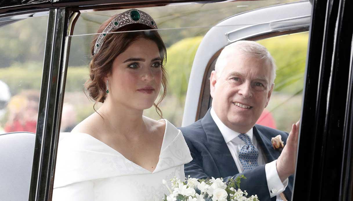 Eugenia di York e il principe Andrea matrimonio