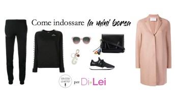 Come indossare la mini borsa: ecco i miei consigli di stile
