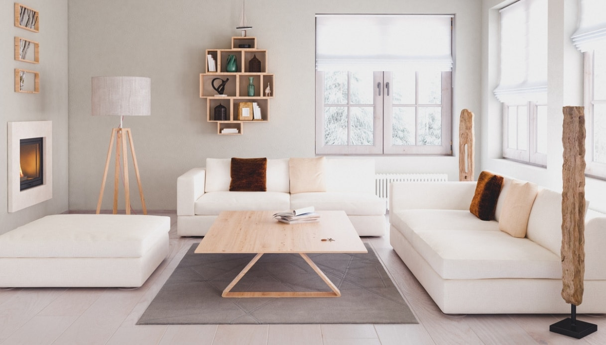 Idee Soggiorno Cucina Piccolo tutti i trucchi per far sembrare più grande un soggiorno