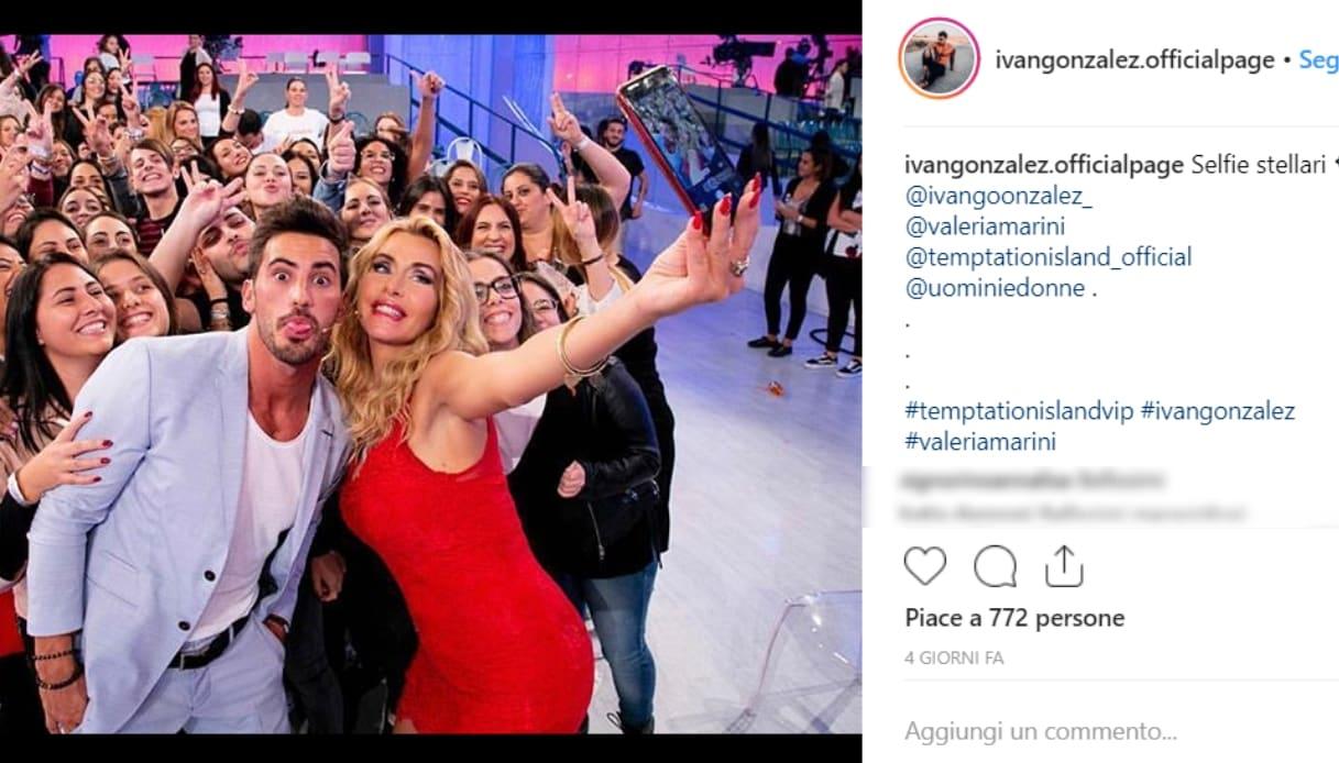 Valeria Marini e Ivan Gonzalez Instagram