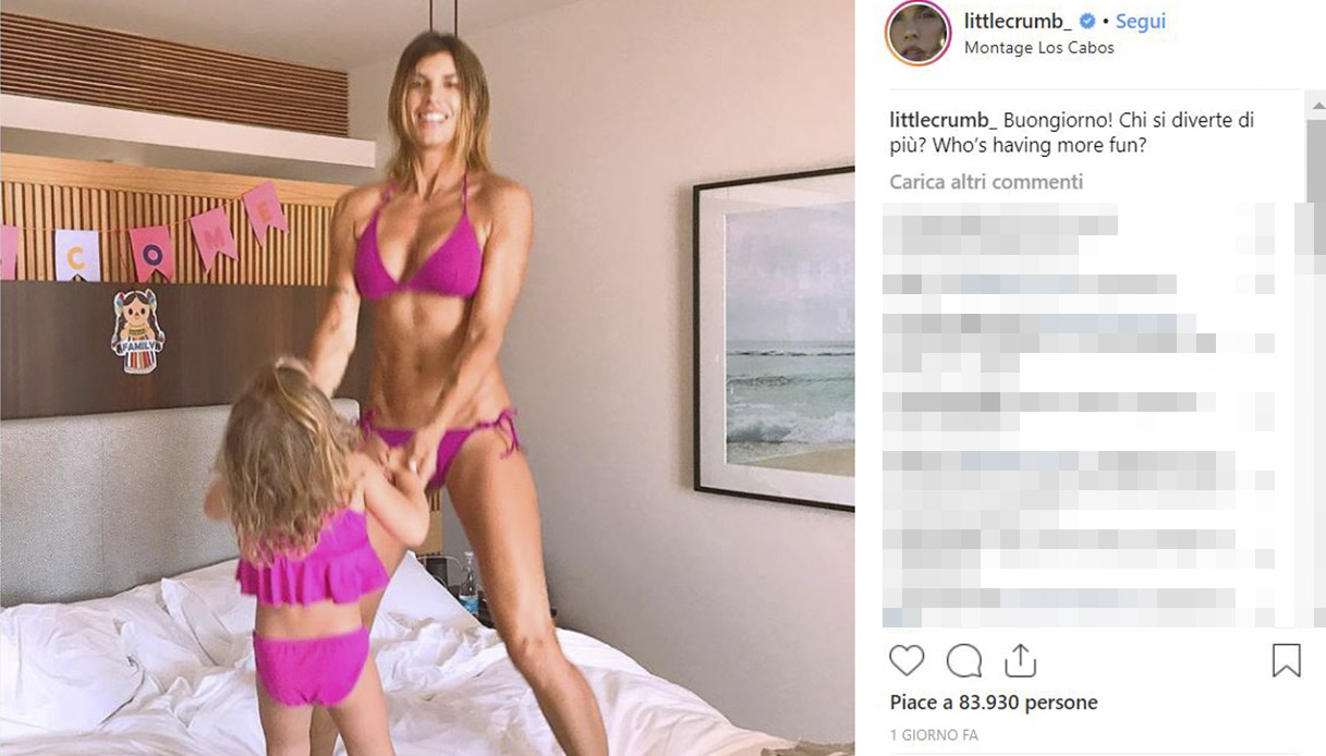Elisabetta Canalis Instagram