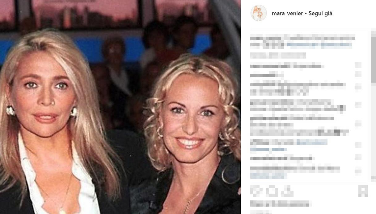 Mara Venier e Antonella Clerici