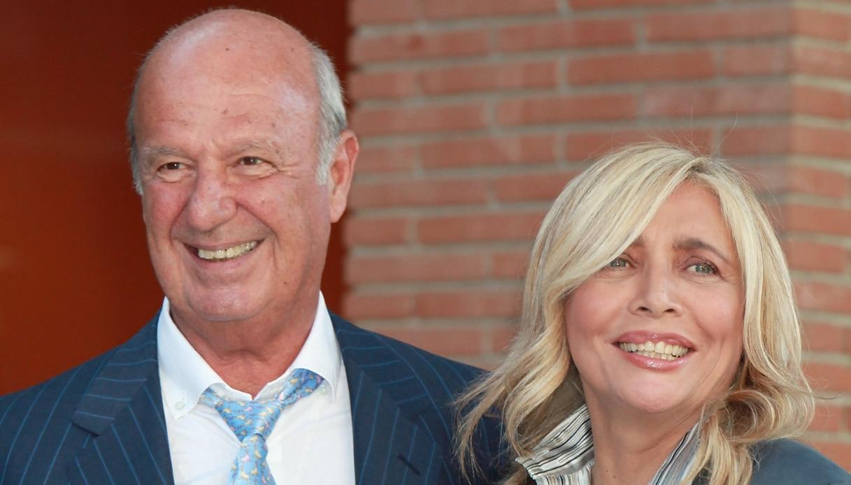 Mara Venier e Nicola Carraro