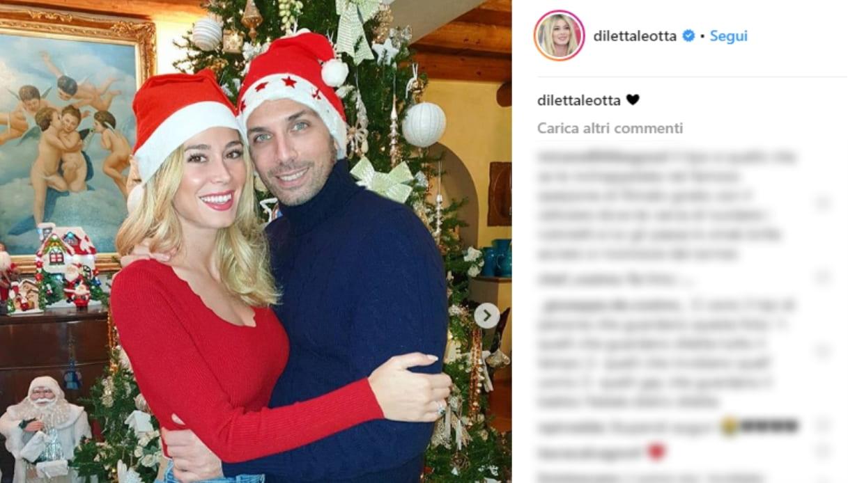 Diletta Leotta posa con Matteo