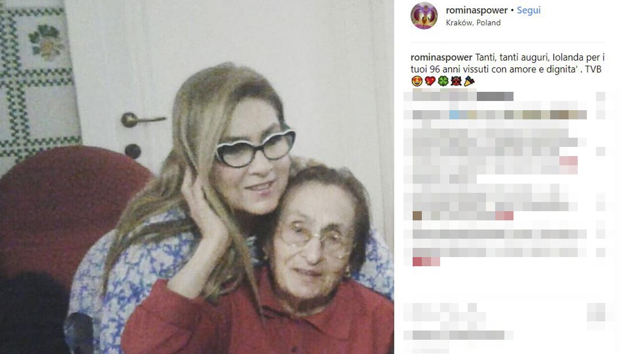 Romina Power Instagram