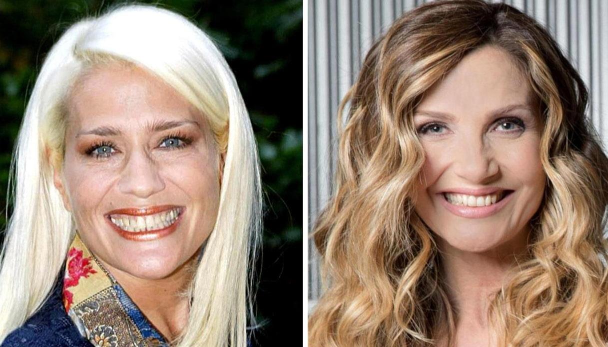 Lorella Cuccarini ed Heather Parisi