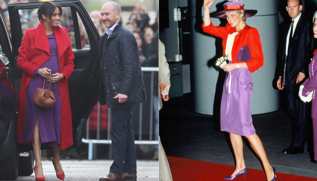 Meghan Markle e Lady Diana