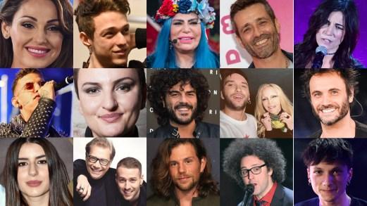 Festival di Sanremo 2019: tutti i cantanti in gara