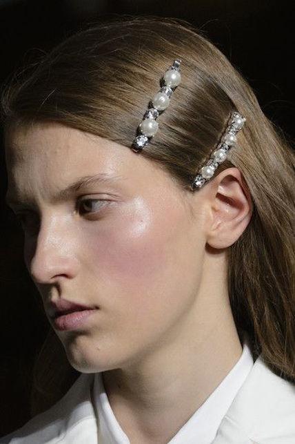 Statement hair pins: