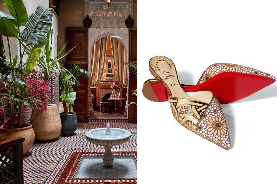 Louboutin e le scarpe da sogno che si ispirano al Marocco