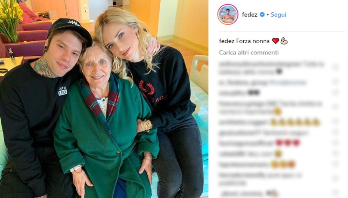 Fedez e Chiara Ferragni Instagram