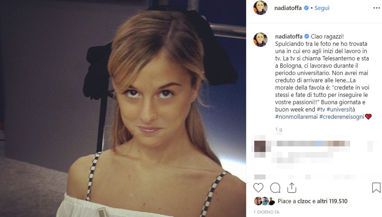 Nadia Toffa Instagram