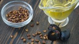 Olio di vinaccioli, gli effetti su pelle e capelli