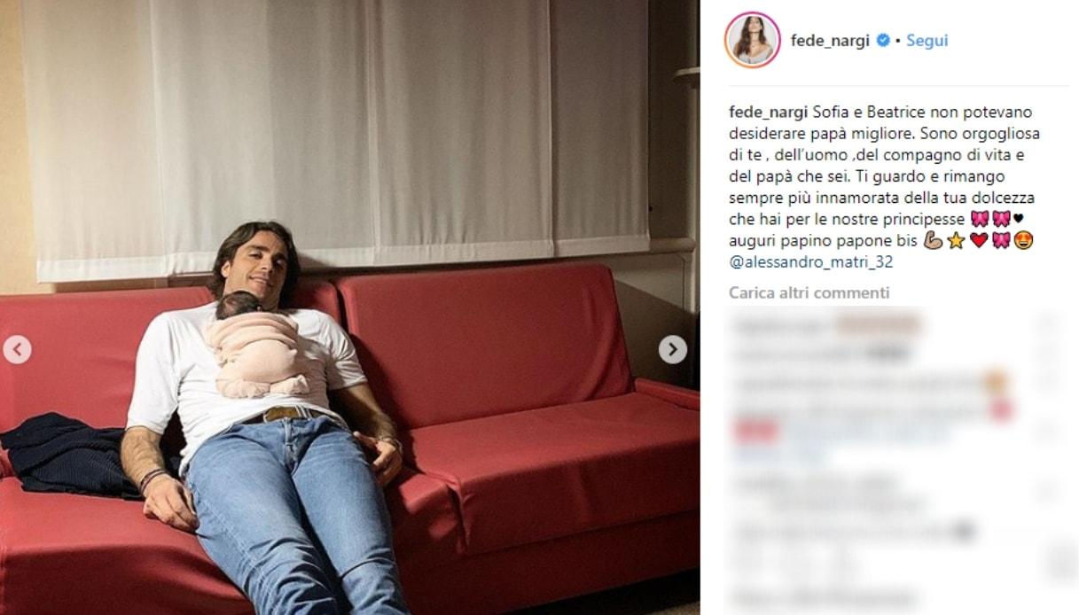 Il post di Federica Nargi