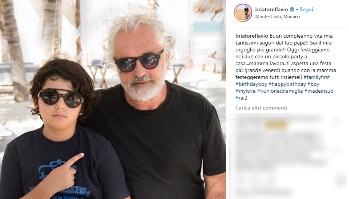 Flavio Briatore Instagram