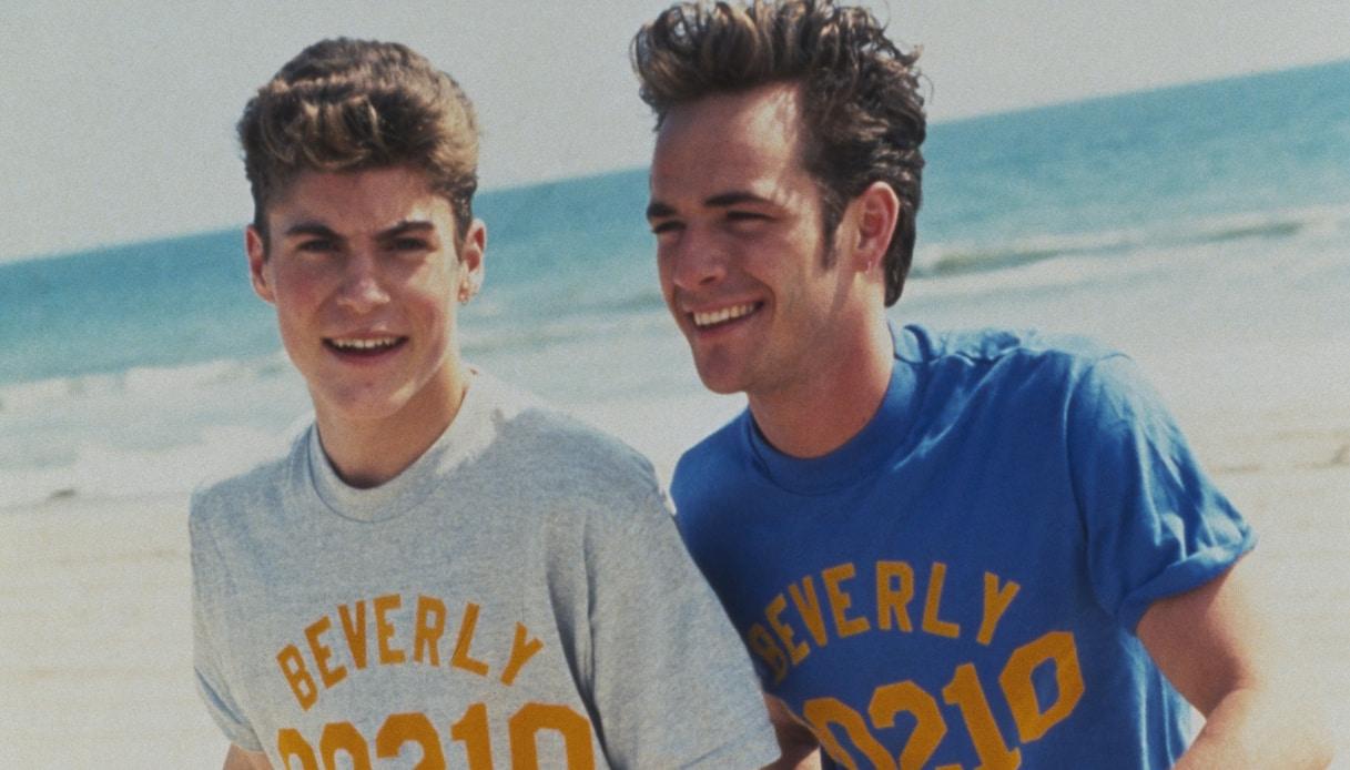 Luke Perry e Brian Austin Green