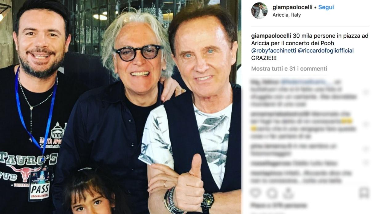 Riccardo Fogli e Giampaolo Celli