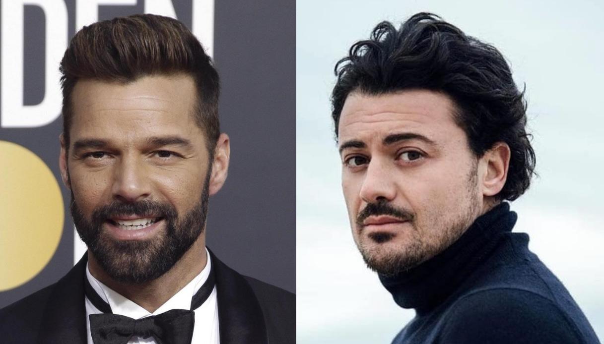 Ricky Martin e Vittorio Grigolo Amici coach