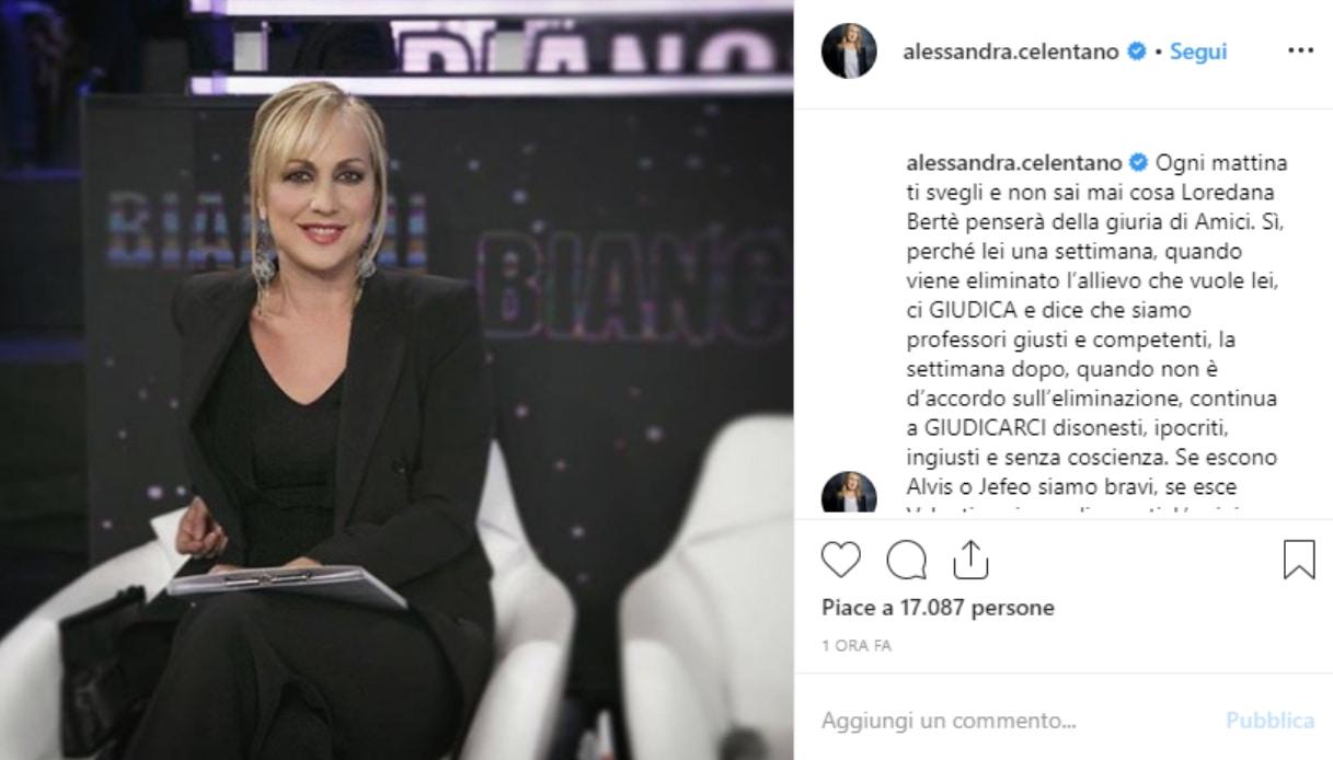 Alessandra Celentano Instagram