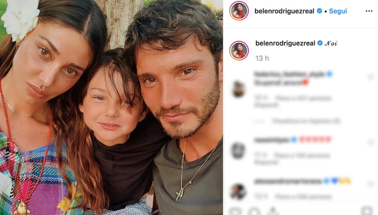 Belen Rodriguez e Stefano De Martino Instagram