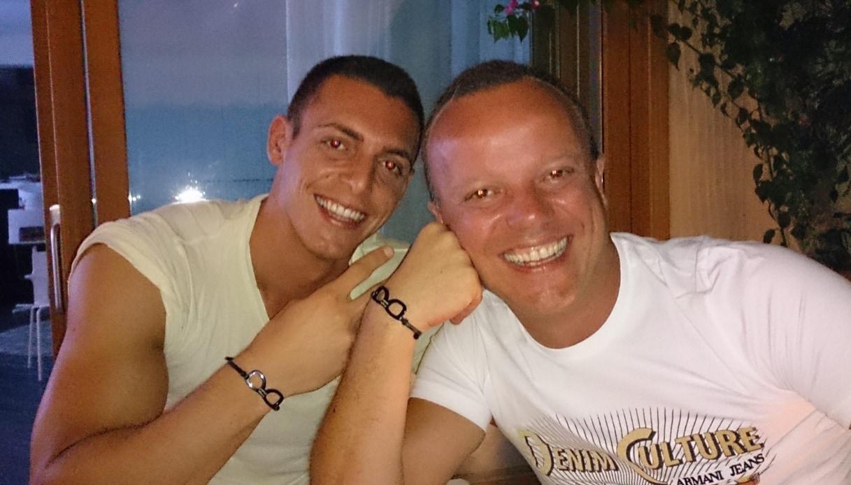 Gigi D'Alessio e il figlio Claudio