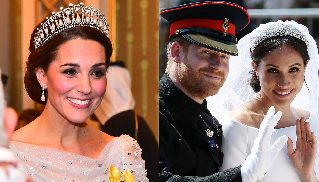 Kate Middleton, Harry e Meghan Markle