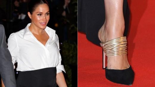 Meghan Markle, le scarpe più belle