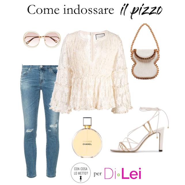 Pizzo: ecco come indossarlo in modo chic