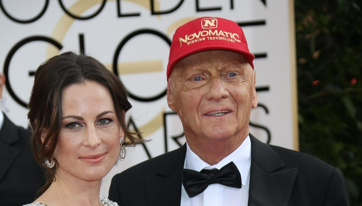 Birgit Wetzinger, moglie di Niki Lauda