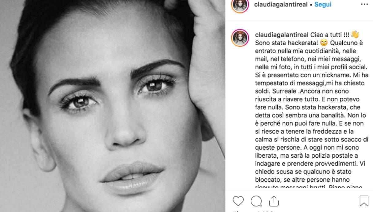 Claudia Galanti Instagram