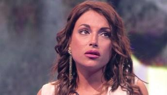 Francesca De André incontra l'ex fidanzato in tv: lite in diretta e accuse pesanti