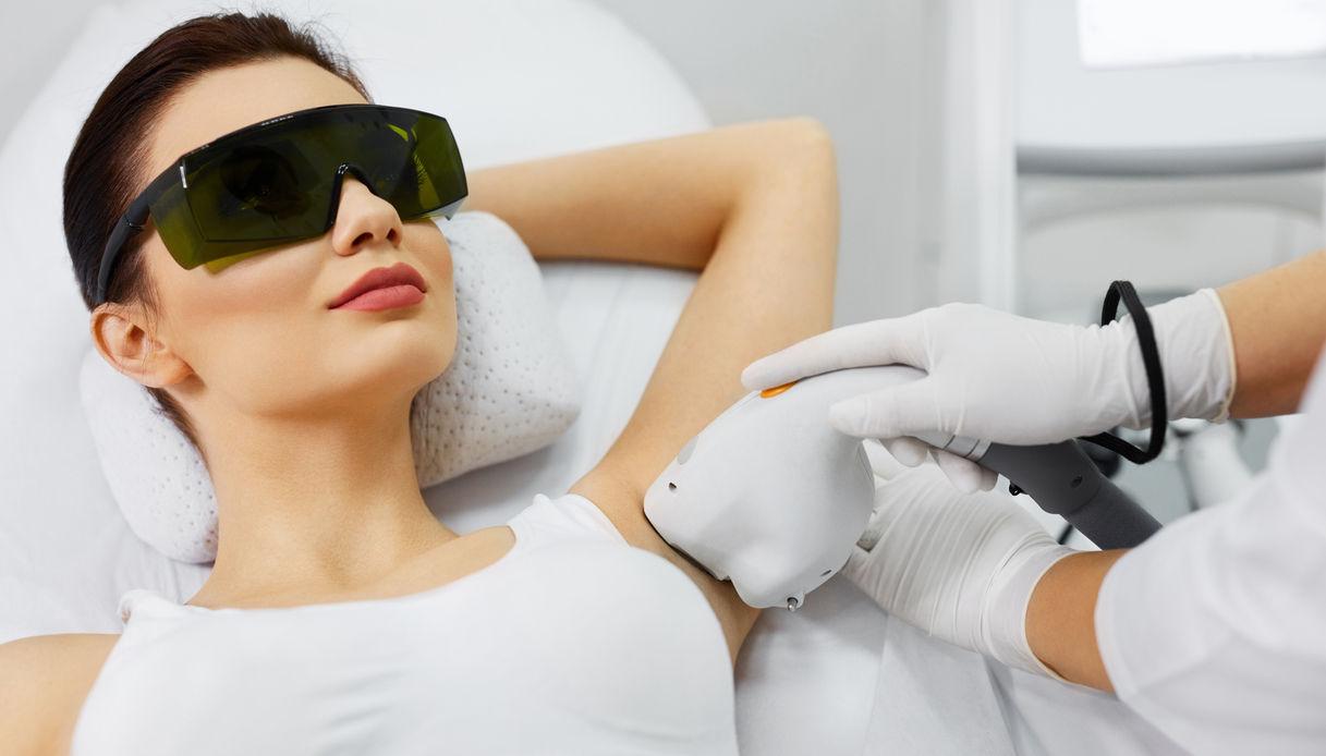 Metodi di epilazione: il laser