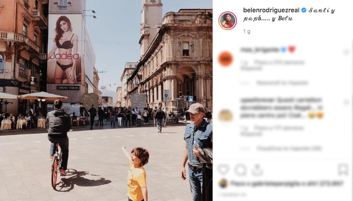 Il post di Belen Rodriguez Instagram