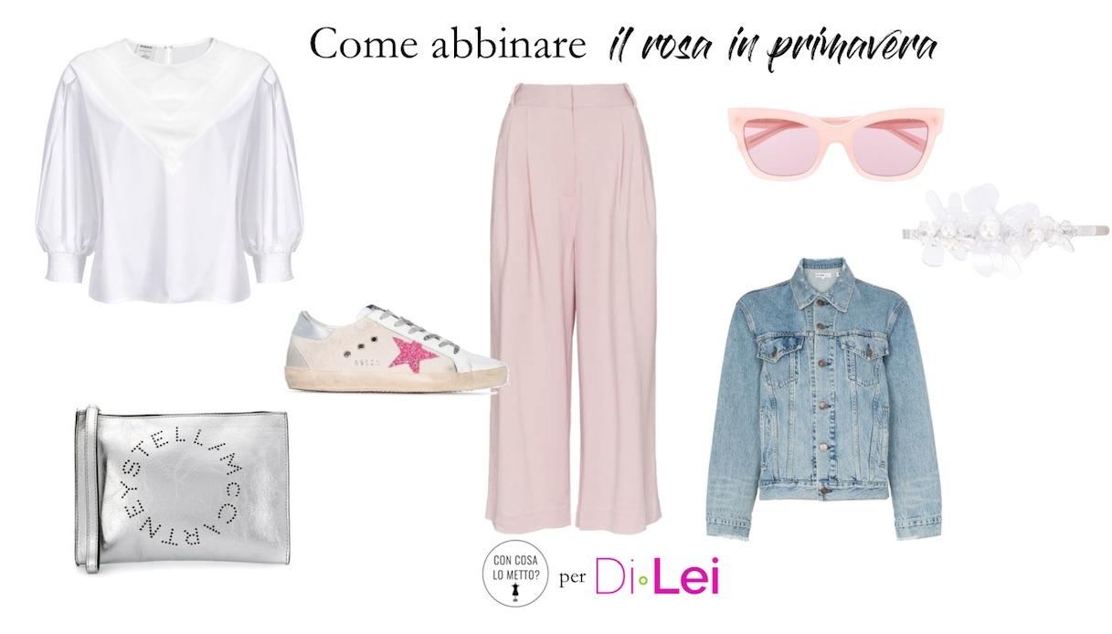 Colori Da Abbinare Al Rosa come abbinare il rosa in primavera: idee di look | dilei