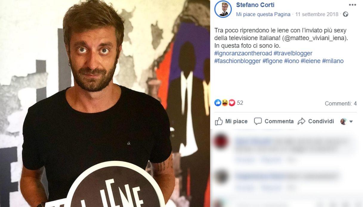 Stefano Corti fidanzato Bianca Atzei