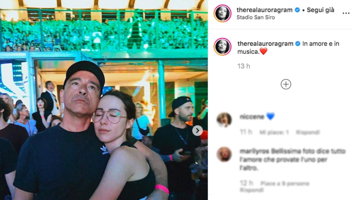 Aurora Ramazzotti ed Eros Instagram