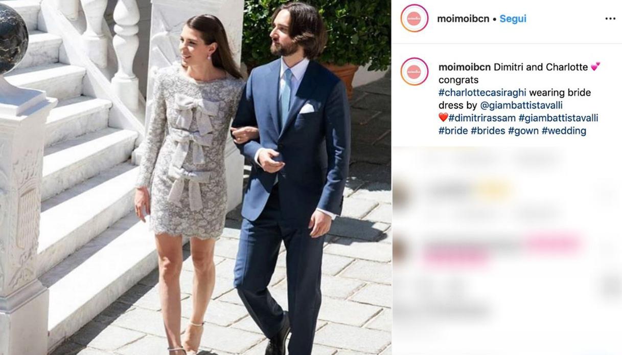Charlotte Casiraghi sposa Dimitri Rassam, nozze blindate a Montecarlo